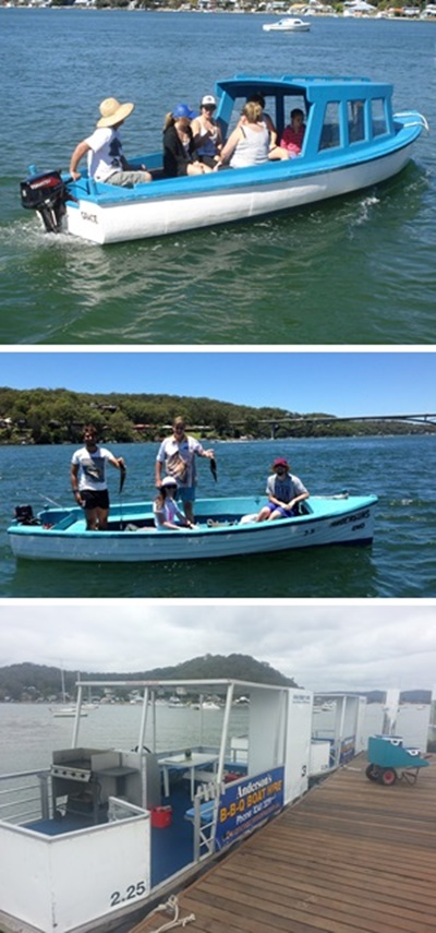 Central Coast Attractions Boat Hire