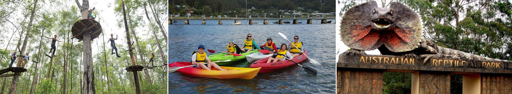 Central Coast Attractions - Adventure